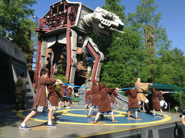 Pictures from Disney's Star Wars Weekends: Jedi Training Academy, an everyday attraction at Disneys Hollywood Studios, moves into a higher gear during Star Wars Weekends.