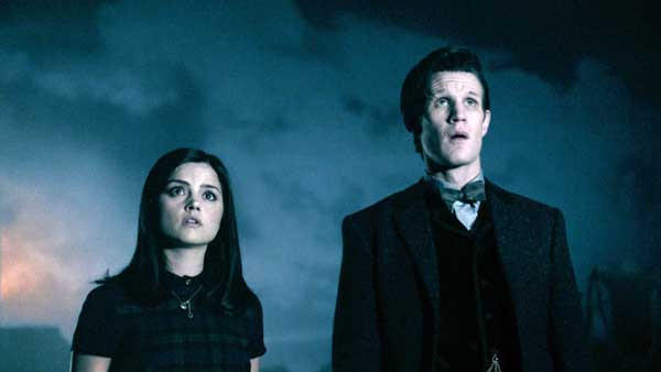 "A secret is revealed in the season finale of ""Doctor Who."" With Jenna-Louise Coleman and Matt Smith."