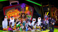 """Madagascar Live! Operation: Vacation"" at Busch Gardens"