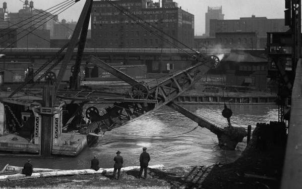 """From """"The Lost Panoramas: When Chicago Changed Its River and the Land Beyond"""""""