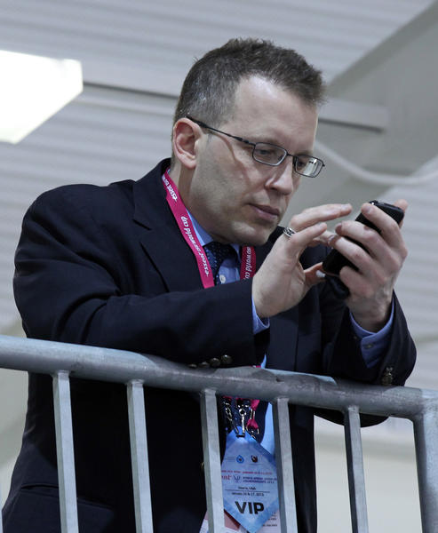 U.S. Speedskating Executive Director Mark Greenwald.