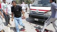 BAQUBA, Iraq (Reuters) - Two bombs exploded outside a Sunni Muslim mosque in the Iraqi city of Baquba as worshippers left Friday prayers, killing at least 43 people in one of the deadliest attacks in a month-long surge in sectarian violence.