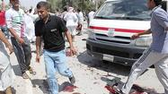 BAGHDAD — Bombings in Iraq near a Sunni Muslim mosque, a busy shopping street and a funeral procession left at least 70 people dead Friday as the security situation continued to show signs of unraveling.