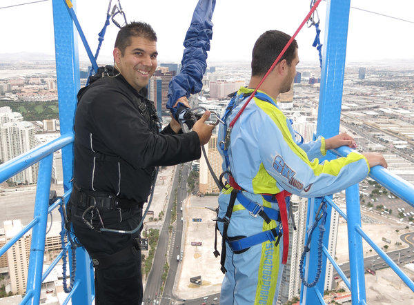 hes sky master at the vegas stratosphere i throw people