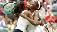 Aaaahhh, <strong>Serena</strong> and <strong>Venus Williams</strong>.
