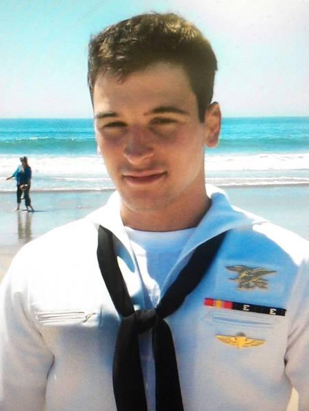 Special Warfare Operator Third Class (SEAL) Jonathan Hart Kaloust.