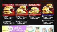McDonald's seen overhauling U.S. menu