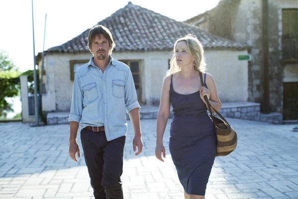 Ethan Hawke and Julie Delpy star in Richard Linklater's Greece-set threequel 'Before Midnight'