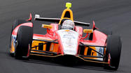 Several drivers neared the 230-mph mark Friday on the eve of qualifying for the Indianapolis 500.