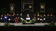 UCF first medical school students graduation