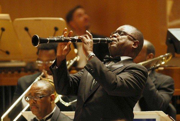 The Duke Ellington Orchestra performs at Segerstrom Concert Hall in Costa Mesa on May 16, 2013.