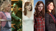 """Doctor Who"" companions: Rose Tyler (Billie Piper), Martha Jones (Freema Agyeman), Donna Noble (Catherine Tate), Amy Pond (Karen Gillan) and Clara Oswin Oswald (Jenna-Louise Coleman). (BBC)"