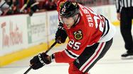 Hawks' Stalberg on outside looking in