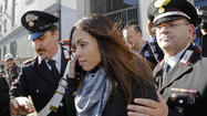 ROME -- The Moroccan-born dancer at the center of Silvio Berlusconi's prostitution trial took the stand in court for the first time Friday, describing how female guests at Berlusconi's so-called bunga-bunga parties stripped to their underwear and dressed up as nuns, nurses and even Barack Obama.