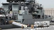 WASHINGTON — The Obama administration on Friday condemned Russia's delivery of advanced antiship missiles to Syria and its buildup of warships in the eastern Mediterranean, arguing that the Kremlin's escalating support for its longtime ally in Damascus could prolong the civil war.