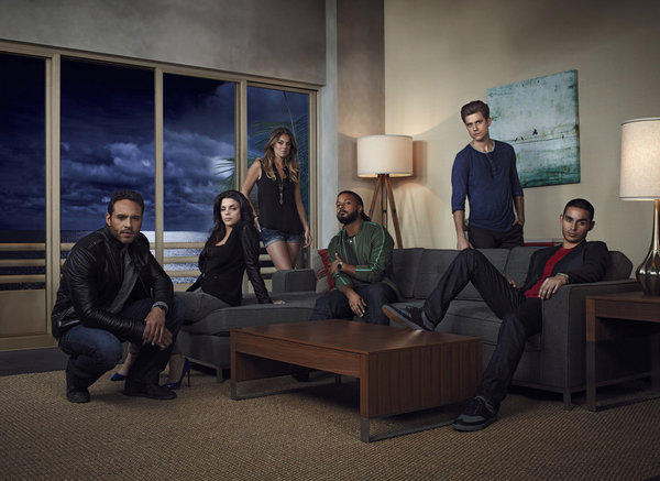 """Graceland,"" about a group of undercover federal agents living in a Southern California beach house, stars Aaron Tveit, Vanessa Ferlito, Serinda Swan, Brandon Jay McLaren, Daniel Sunjata and Manny Montana."