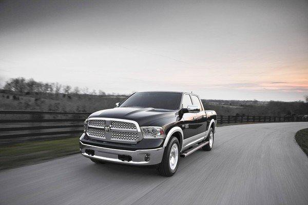 All V-6 Ram 1500s come with the eight-speed transmission, which Chrysler says is a first for full-size trucks. The smartly calibrated gearbox works well with the engine; it knows when and when not to shift.