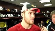 Video: Blackhawks' Bickell on Game 2 approach