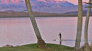 Las Vegas: Paddleboarding in the middle of the desert