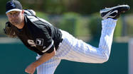 ANAHEIM, Calif. — Left-handers Hector Santiago and John Danks could dictate the makeup of the White Sox pitching staff when they return to Chicago next week if their performances Saturday go as hoped.