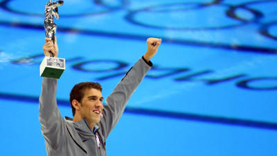 Michael Phelps throws water on reports that he'll return to the Olympic pool