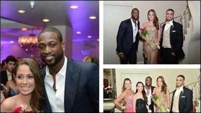 "Wade makes surprise Friday prom-night appearance | <span class=""inhed"">Video</span>"