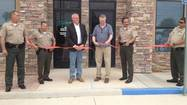 SALTON CITY — Though deputies have started making their new home here for the last year, the ribbon was cut on the new Imperial County Sheriff's Office substation Friday morning.