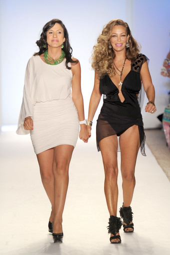 <b>Photos:</b> Mercedes-Benz Fashion Week Swim - Nicolita: Designer Nicole Di Rocco and Lisa Pliner