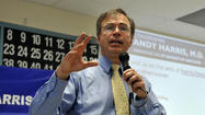 Rep. Andy Harris of Maryland used a rare opportunity to speak on behalf of the Republican Party on Saturday to tie the unfolding IRS scandal to President Barack Obama's 2010 overhaul of the nation's health care system.