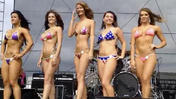 Preakness Peek at the bikini contest [Video]