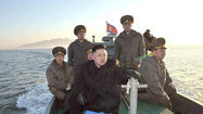 "BEIJING -- North Korea's latest <a href=""http://www.latimes.com/news/world/worldnow/la-fg-wn-north-korea-missiles-20130518,0,6989398.story"">missile launch</a> comes after months of fiery rhetoric directed against South Korea, Japan and the United States, including threats of an imminent nuclear war."