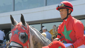 Hall of Fame jockey Gary Stevens had help on his way back to Preakness