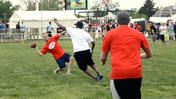 Preakness Infield football [Video]