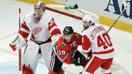 There were times during their first-round series against the Wild when the Blackhawks weren't at their best.