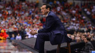 Duke coach Mike Krzyzewski told Sports Illustrated on Saturday that he may stay on as coach of USA Basketball.