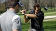 A golf day with Alexi Giannoulias does not begin at the driving range or Sportmart.
