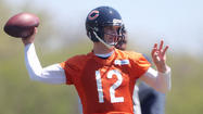 Bears fans may be more panicked about Josh McCown being the team's backup quarterback than they were about the Chicago-area water levels being higher than sled hills last month.