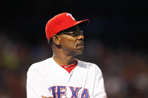Rangers manager Ron Washington.
