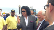 Rock god at Preakness