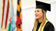 "When Kathy McKenzie took to the podium Saturday to present graduate remarks at the Hagerstown Community College 66th Commencement, she said she was there as the result of a life change that made her want to ""pay it forward."""