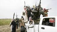 RAMADI, Iraq (Reuters) - Suspected Sunni Muslim militants killed four state-backed Sunni fighters in Iraq on Saturday, security sources said, apparently viewing them as collaborators with the Shi'ite-led government of a nation plagued by sectarian hatred.