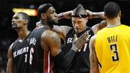 It's Heat vs. Pacers in East finals starting Wednesday
