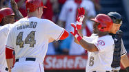 Alberto Callaspo drives in five runs in Angels' 12-9 victory