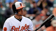 The Orioles announced after Saturday's 10-6 loss to the Tampa Bay rays that they optioned infielder Ryan Flaherty to Triple-A Norfolk.