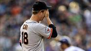 Giants' starting rotation suddenly lacking starpower