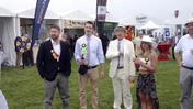 Preakness Peek of Kevin Spacey [Video]