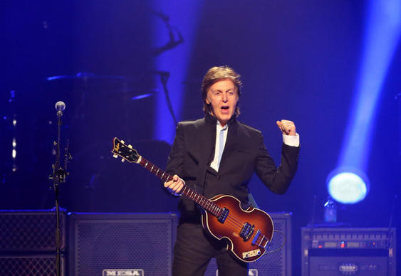 Paul McCartney opens his Out There tour at Amway Center in Orlando, Fla. Saturday, May 18, 2013.   (Gary W. Green/Orlando Sentinel)