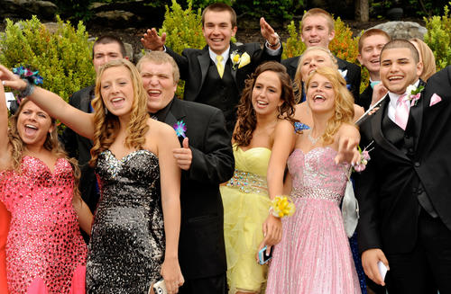 The Northampton High School Prom was held Saturday at The Palace Center in Allentown.