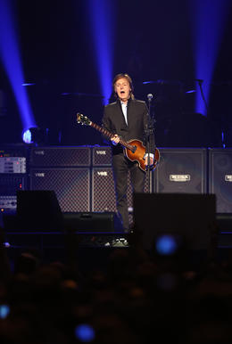 Paul McCartney performs on opening night of his Out There tour at Amway Center in Orlando, Fla. Saturday, May 18, 2013.   (Gary W. Green/Orlando Sentinel)