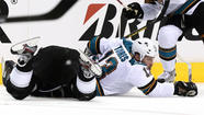 NHL fines Sharks $100,000 after general manager's comments